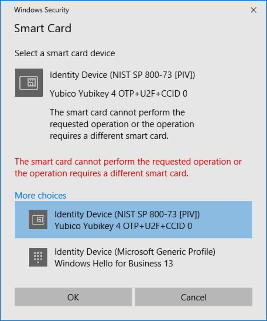 Yubico Forum • View topic - GPG4Win on a Surface Book Cannot
