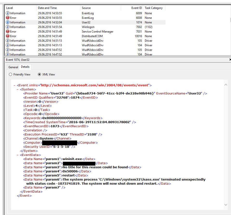 Yubico Forum • View topic - Windows 10 logon - BSOD/forced restart